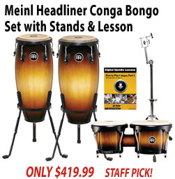 Meinl Headliner Conga Bongo Set with Stands