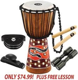 Meinl Djembe Bundle Sale