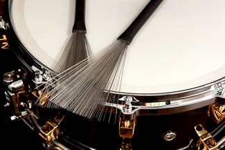 drum brushes aren 39 t just for the jazz scene x8 drums percussion inc. Black Bedroom Furniture Sets. Home Design Ideas