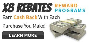 X8 Cashback Program